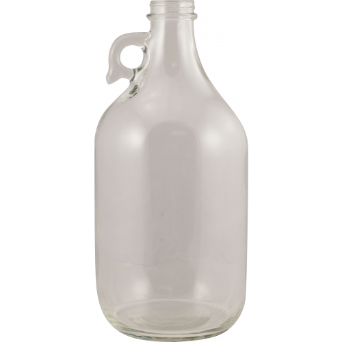 Glass Bottles - 1/2 Gallon Flint Jug with Handle - Qty 6 - Pallet of 54 Cases - Brew My Beers