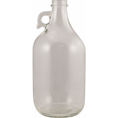 Glass Bottles - 1/2 Gallon Flint Jug with Handle - Case of 6 - Brew My Beers