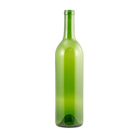750 mL Champagne Green Bordeaux Wine Bottles - Case of 12 - Brew My Beers