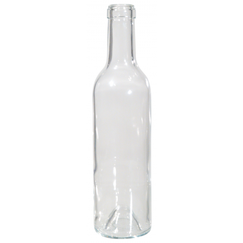 Wine Bottles (Clear) - 375ml - Pallet of 88 Cases - Brew My Beers