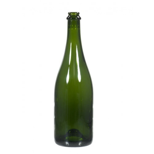 750 mL Green Champagne Bottles - Case of 12 - Brew My Beers