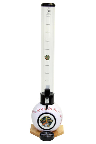 Beer Tubes Baseball Base Tabletop Beverage Dispenser - Brew My Beers