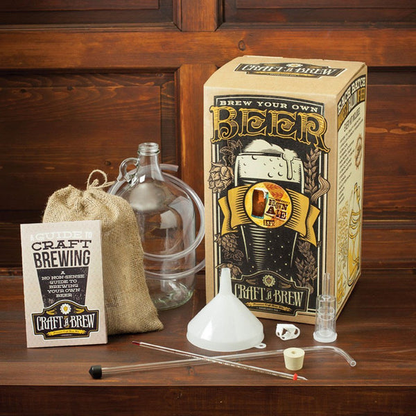 Craft A Brew Brown Ale Brewing Kit - Brew My Beers