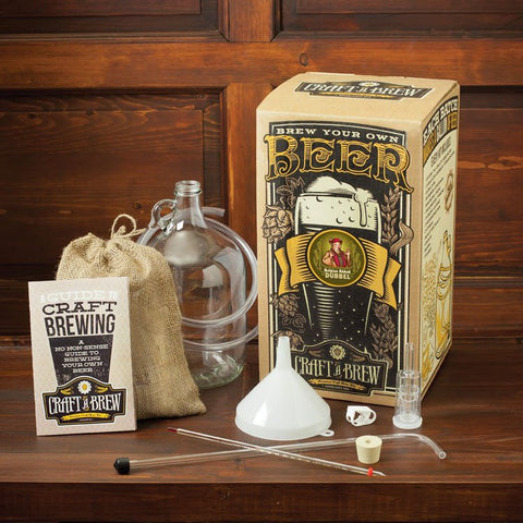 Craft A Brew Belgian Abbey Dubbel Brewing Kit - Brew My Beers