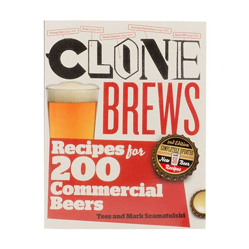 CloneBrews, 2nd Edition: Recipes for 200 Commercial Beers - Brew My Beers