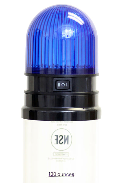 Beer Tubes Blue Light Lid for 100oz. Tube - Brew My Beers
