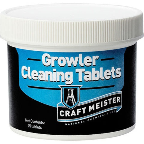 Craft Meister Growler Cleaning Tabs - 25 Count - Brew My Beers