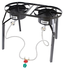 Bayou Classic 10 PSI Dual Burner Cooker - Brew My Beers