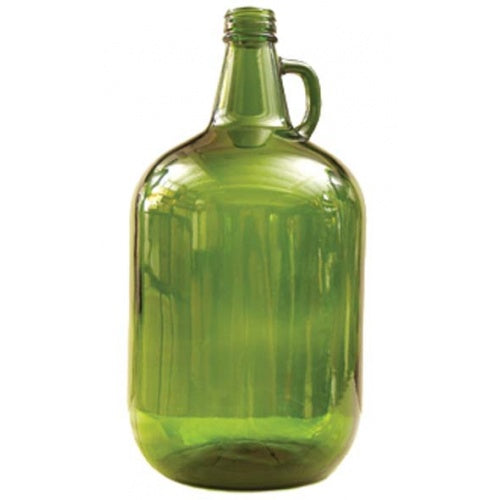 Glass Bottles - 4 L Green Jug with Handle - Qty 4 - Pallet of 54 Cases - Brew My Beers