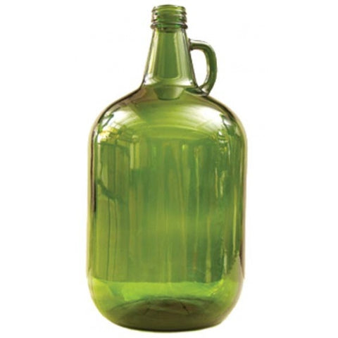 Glass Bottles - 4 L Green Jug with Handle - Case of 4 - Brew My Beers