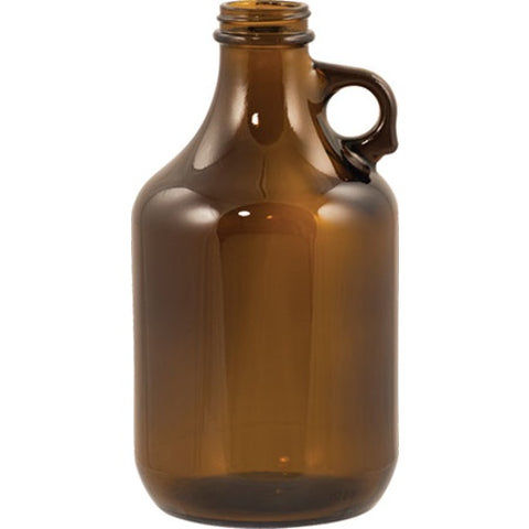 Beer Bottles - 32 oz Amber Growler - Brew My Beers