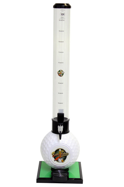 Beer Tubes Golf Ball Base Tabletop Beverage Dispenser - Brew My Beers
