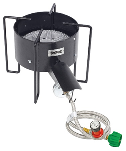 "Bayou Classic 30 PSI 16"" Banjo Cooker with Hose Guard - Brew My Beers"