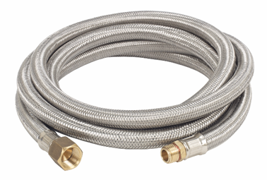 Bayou Classic 10 Ft. Stainless Braided LPG Hose - Brew My Beers