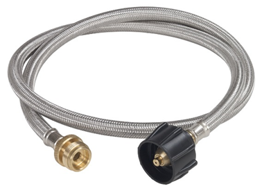 Bayou Classic 4 Ft. Stainless Braided LPG Adaptor Hose - Brew My Beers