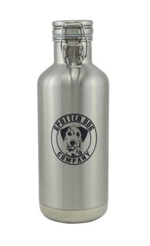 Spotted Dog Company Stainless Steel Insulated Howler (Half Growler) 32oz - Brew My Beers