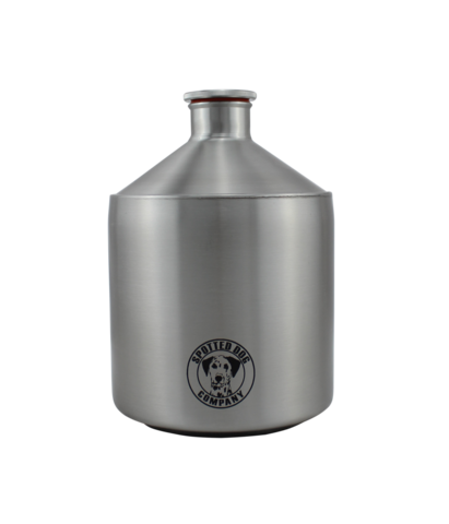 Spotted Dog Company Stainless Steel 64 oz. Mini-Keg Growler - Brew My Beers