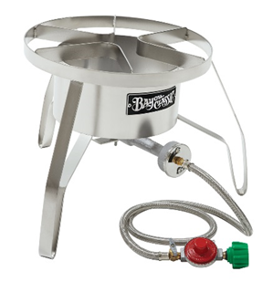 "Bayou Classic 10 PSI 14"" Stainless Steel High Pressure Cooker - Brew My Beers"