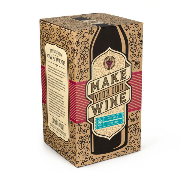 Craft A Brew Pinot Grigio Wine Kit - Brew My Beers