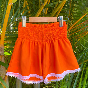 Ivy Shorts - Orange