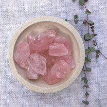 Load image into Gallery viewer, Rose Quartz Raw