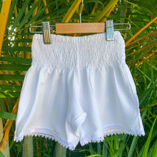 Load image into Gallery viewer, Ivy Shorts - White
