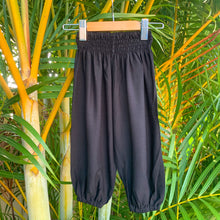 Load image into Gallery viewer, Black Genie Pants - unisex