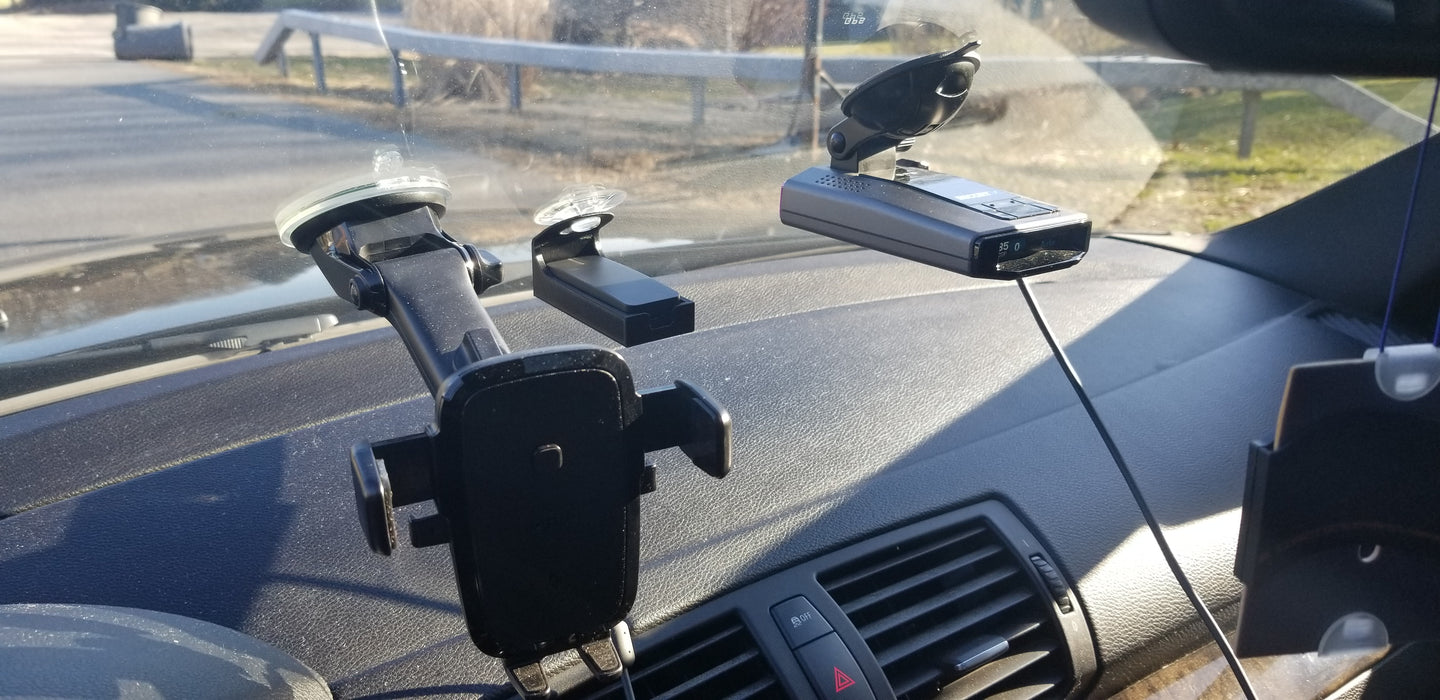 Dragy Performance Meter Suction Cup Mount