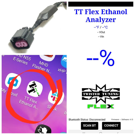 Twisted Tuning TT Flex Bluetooth Flex Fuel Add-On