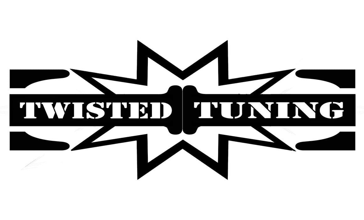 Twisted Tuning Window Decals