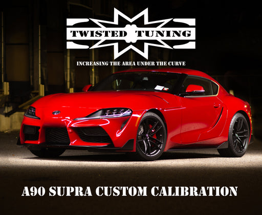 A90 Supra Custom ECU Calibration