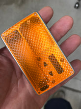 Neon Orange Curved Diamond billet box rev4 doors (mod not included)