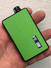 Toxic Green g10 Controls Grippy billet box rev4 doors with buttons and screen cut out (mod not included)
