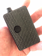 Black Linen g10  grippy Control billet box rev4 doors with buttons and screen cut out (mod not included)