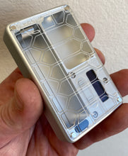 Clear Mission Switch Curved Shell acrylic billet box rev4 doors (mod and inners not included)