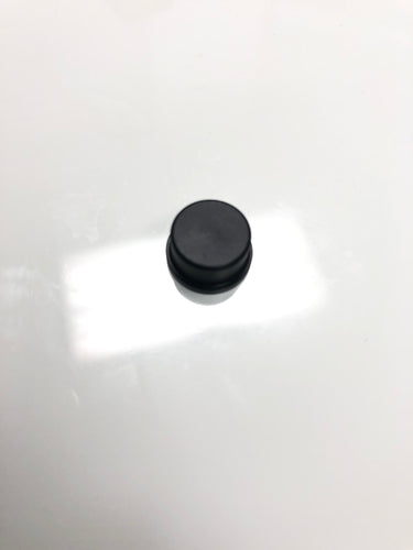 Black 11mm button for plug and others