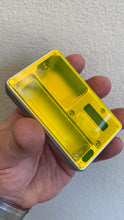 Neon yellow Mission Switch FLAT acrylic billet box rev4 doors (mod and inners not included)