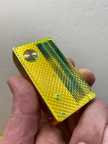 Mums Acrylic Dotmod AiO Doors Neon Green Diamonds