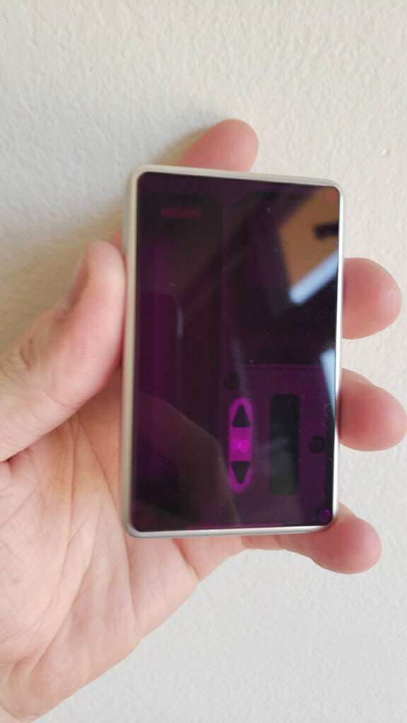 Purple FLAT acrylic billet box rev4 doors (mod not included)