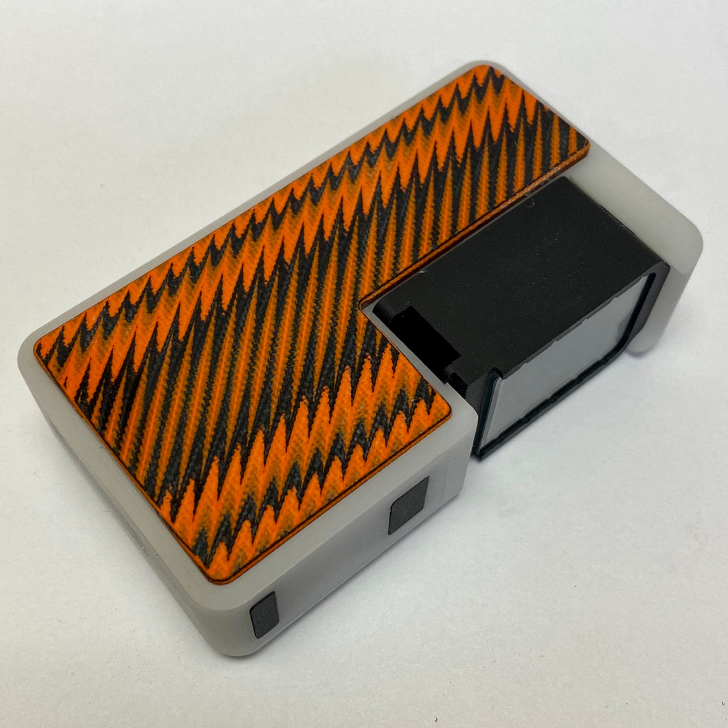 Black and Orange G10 Grippy Key Doors (Mod not included)