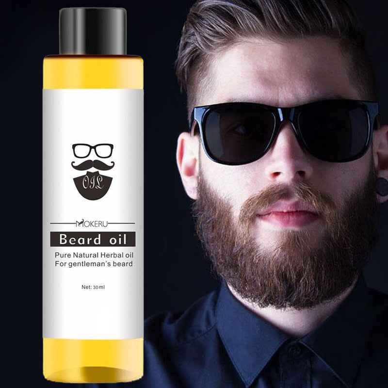 Natural Organic Thick Anti-flaking Beard Care Oil 30ml