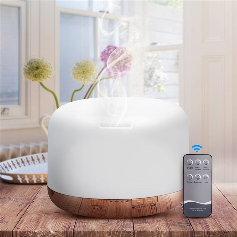 Air Humidifier Ultrasonic Cool Mist Maker With Remote