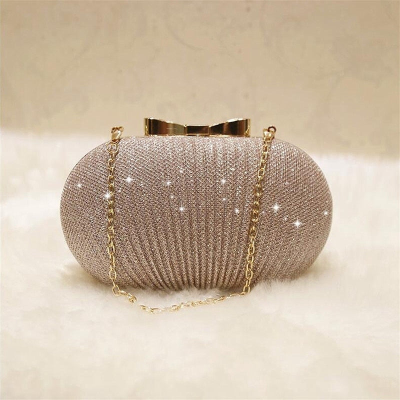 Shiny Evening Clutch For Women