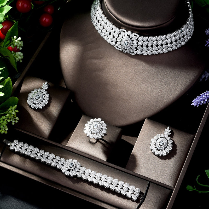 CZ Zirconia Jewelry Sets
