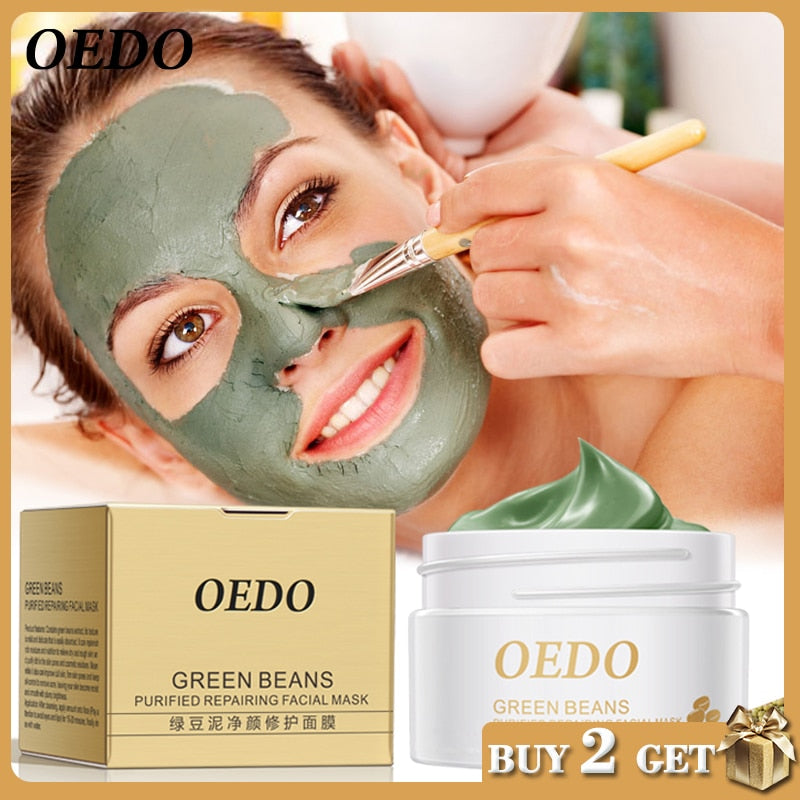 Hot Face Cleansing Mung Bean Mud Peeling Treatment