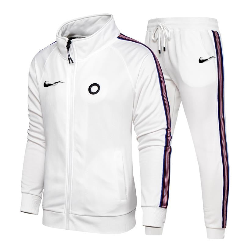 Casual sweatshirts tracksuit men sport suit