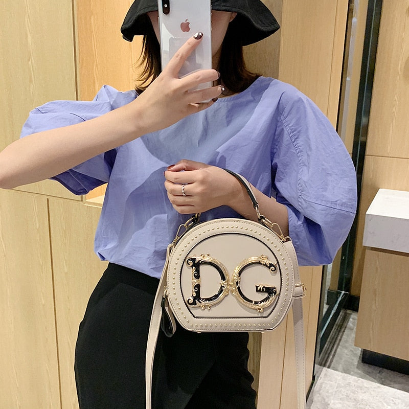 Luxury Round Shape Women Designer Bag