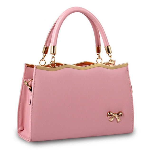 Casual Tote Women PU Leather Handbags