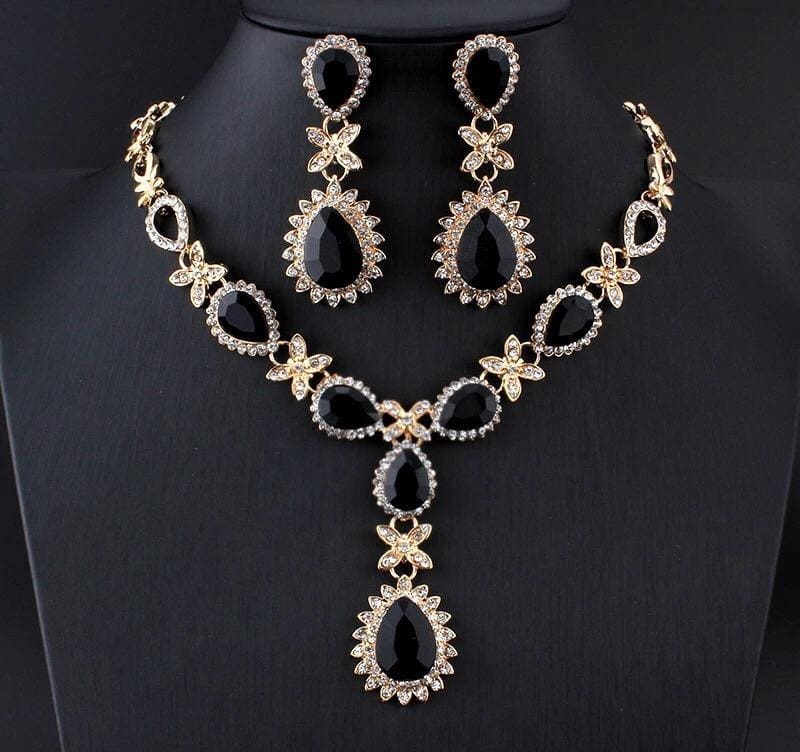 African Women Fashion High Quality Wedding Jewelry Sets 2 JEWELRY SETS