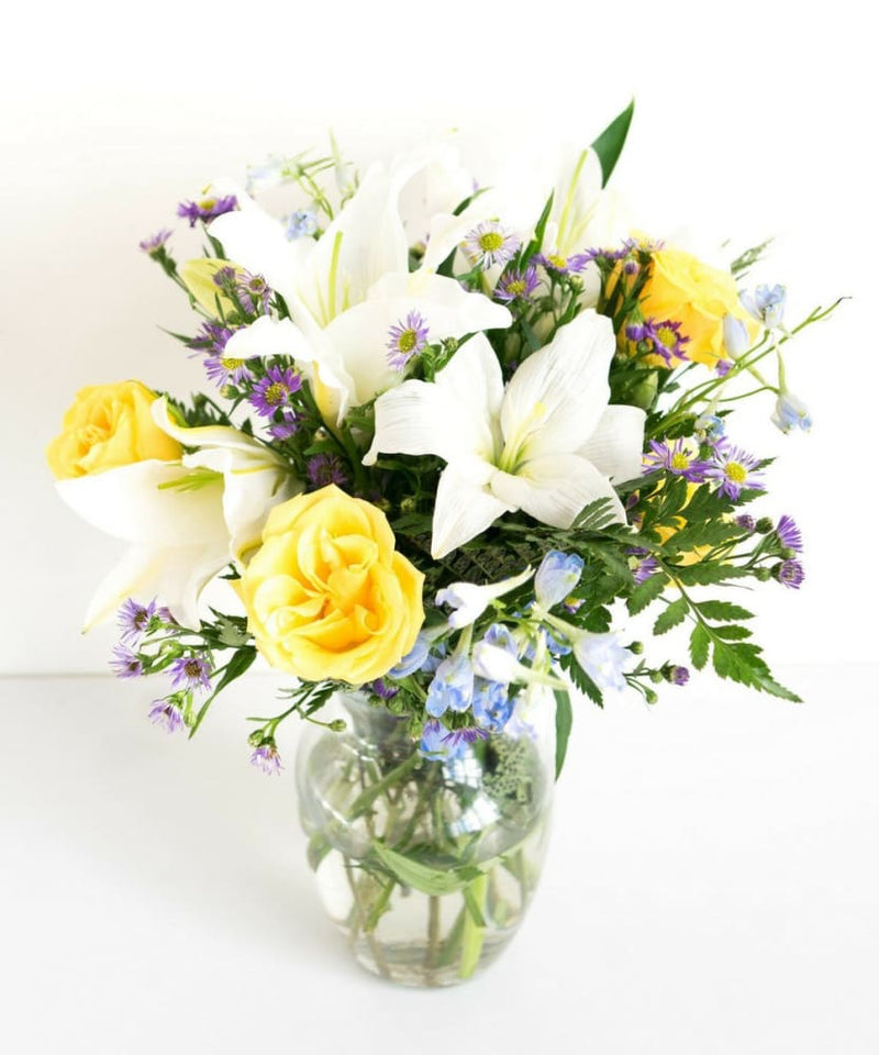 Bluetiful Sunshine Bouquet-Flowers-US MART NEW YORK